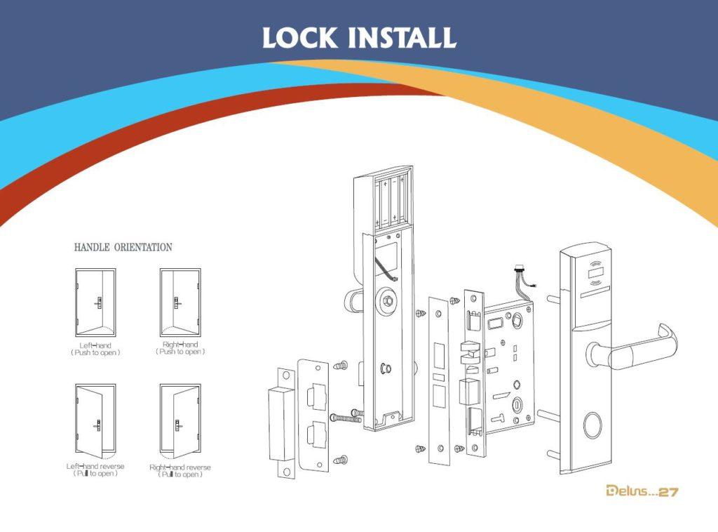 hotel lock install
