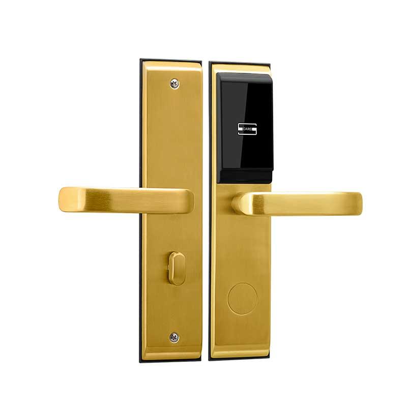 hotel card key locks